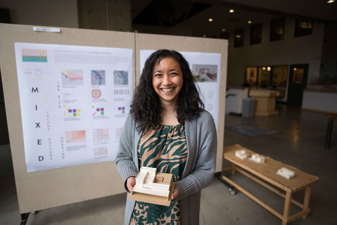 An agent of change: Grad student Ali Lau fights for equity and inclusion for underrepresented students in the College of Design