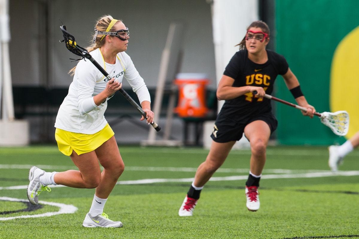 Photos: Oregon Lacrosse falls to USC Trojans 13-11