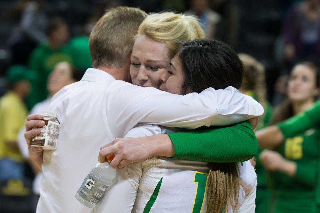 Photos: Women's volleyball celebrates Senior Night with a win against Colorado
