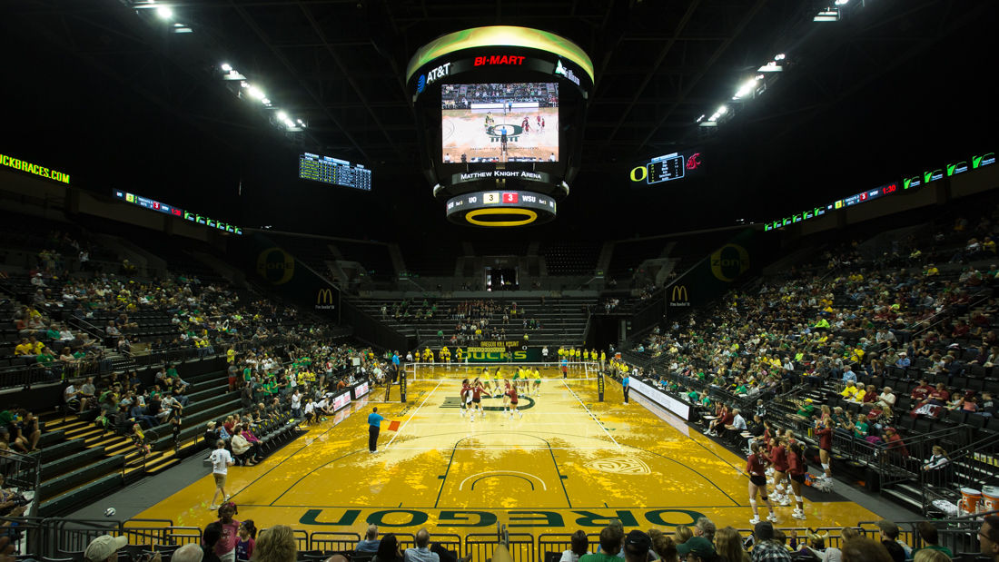 Photos: Women's volleyball sweeps Washington State