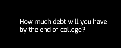 The cost of higher education: students talk debt