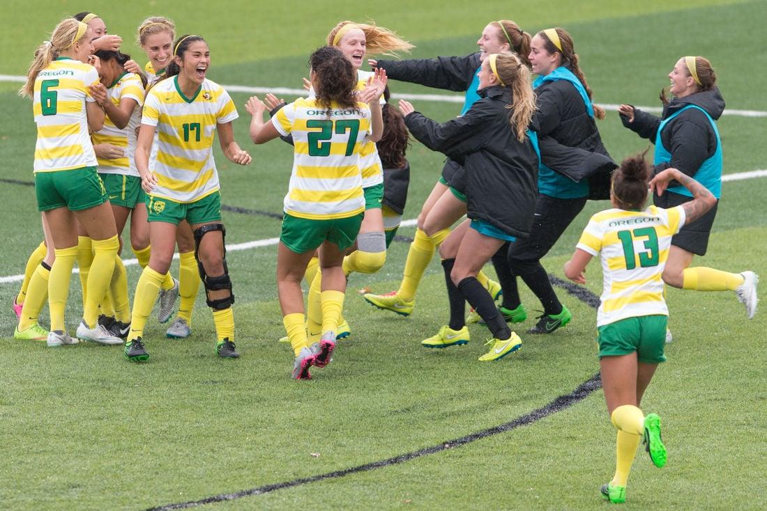 Photos: Oregon Women's Soccer drops Washington 1-0 in overtime.