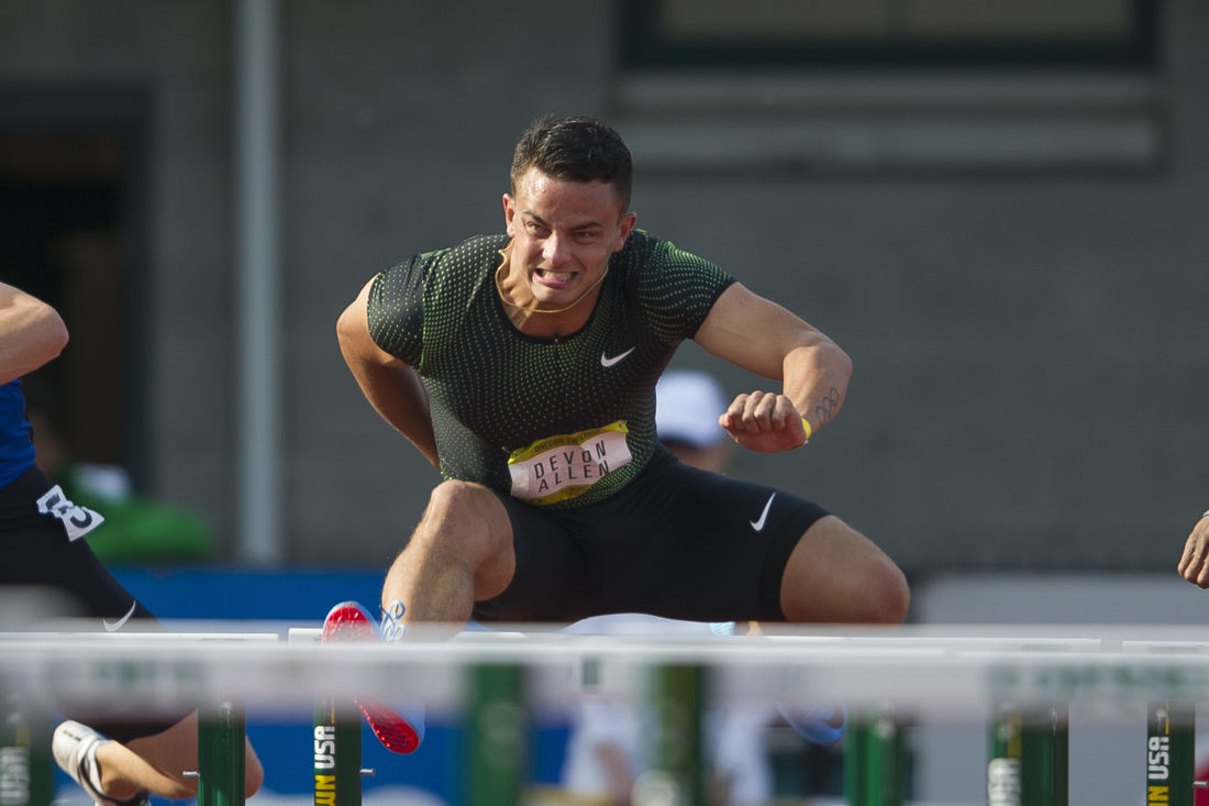 Current and former Ducks shine in final home meet at Hayward Field in Oregon Twilight