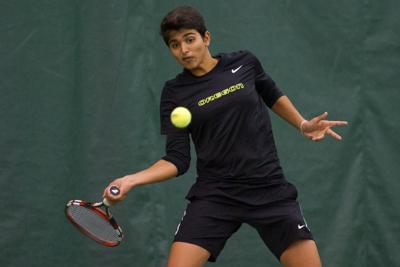 Shweta Sangwan steps up in singles for women's tennis