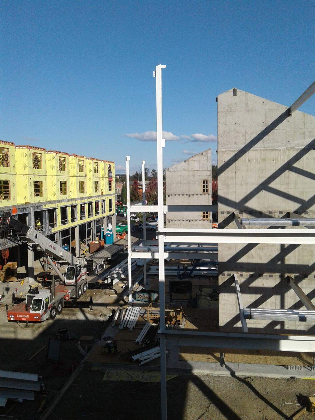 5th Street Market construction
