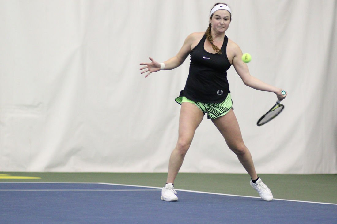 Photos: Oregon Women's Tennis beats Portland Pilots 5-2