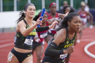 Women sprinters find motivation through friendly competition