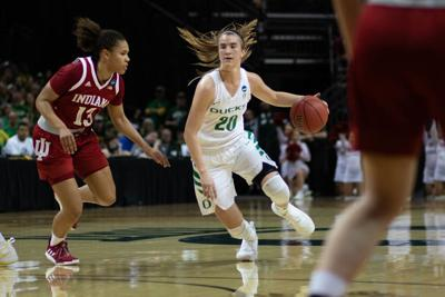 In a league of her own, Sabrina Ionescu records 18th career triple-double in NCAA second-round win