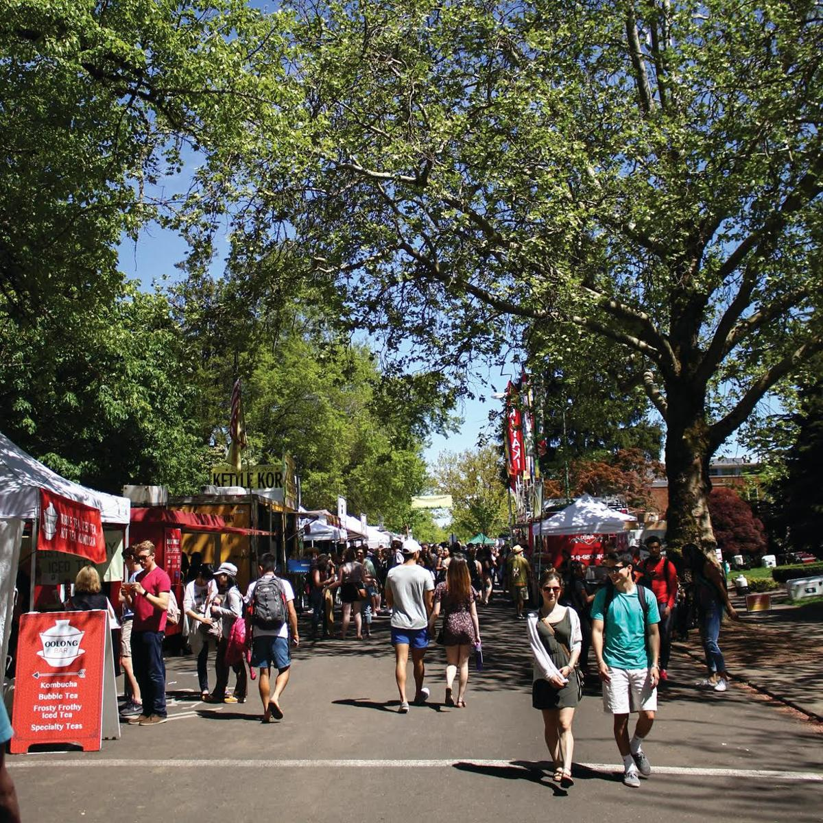 Best ways to spend less than $10 at the spring ASUO Street Faire