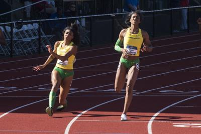 Oregon women's track breaks another collegiate record at the Penn Relays