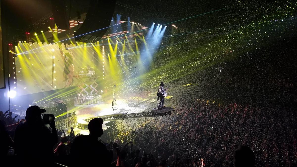 Review: KISS, aptly excessive, brings Freedom to Rock tour to MKA