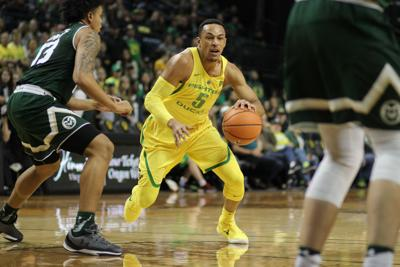 Ducks hold off Portland State 95-84 for third straight win