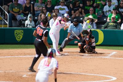 When Oregon softball's offense goes cold, Nikki Udria is the spark