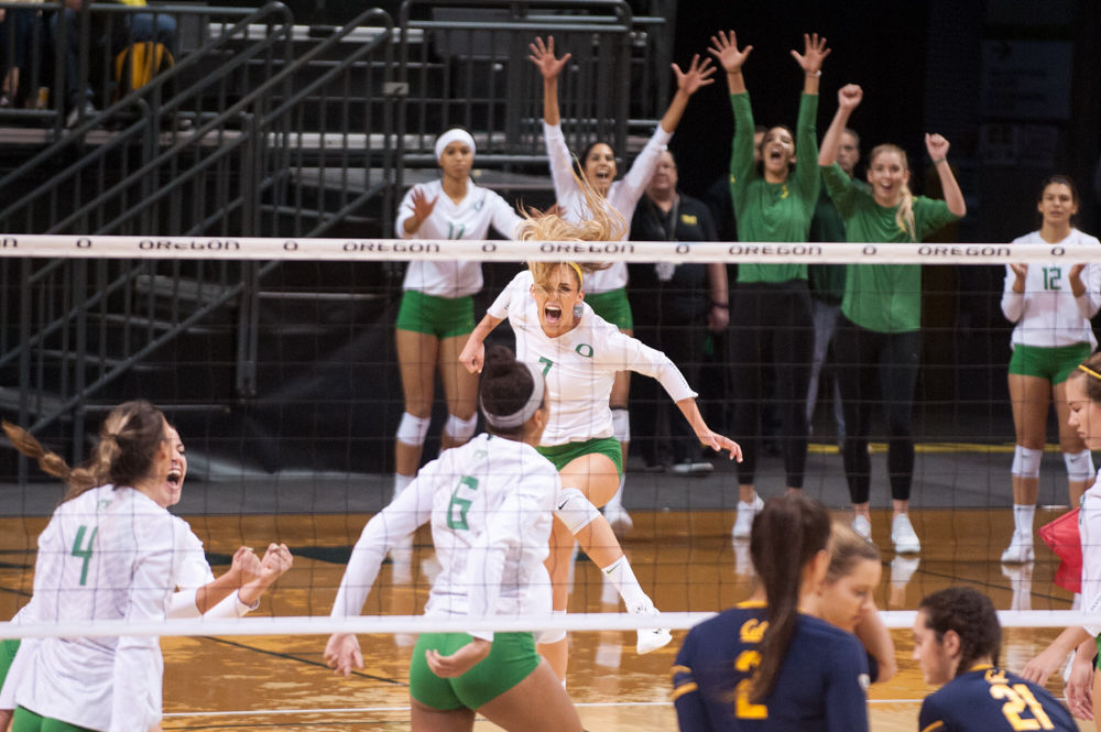 Taylor Agost is playing best volleyball of her collegiate career after taking on new role