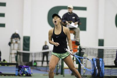 Women's tennis takes win in first road match against San Diego