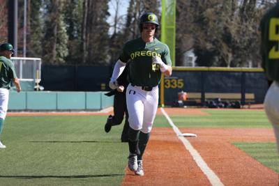 Oregon falls 5-3 in series finale against the California Golden Bears