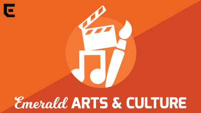 Arts and culture podcast logo