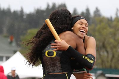 Oregon track and field runs well at Mt. Sac Relays