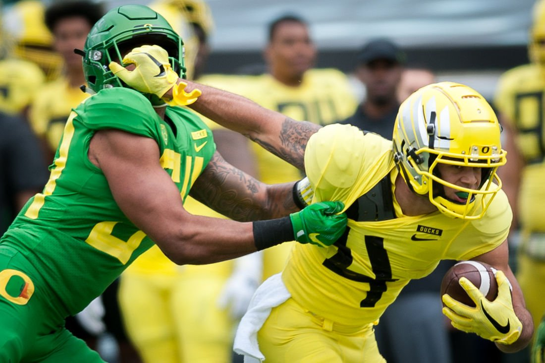 Takeaways Newcomers Shine In Oregon Football S 2019 Spring Game Sports Dailyemerald Com