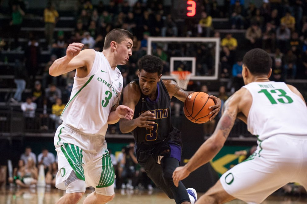 Photos: The Oregon Ducks defeat the Prairie View A&M Panthers 100-67