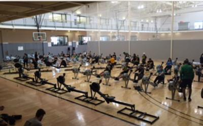 Oregon club rowing reaches 2 million meters in annual 'Erg-A-Thon'