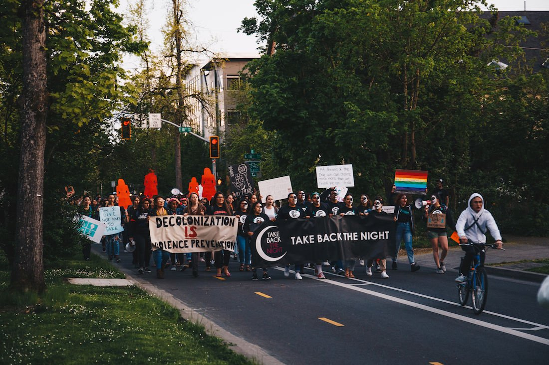 Photos: The 40th Annual Take Back the Night marches through the streets of Eugene