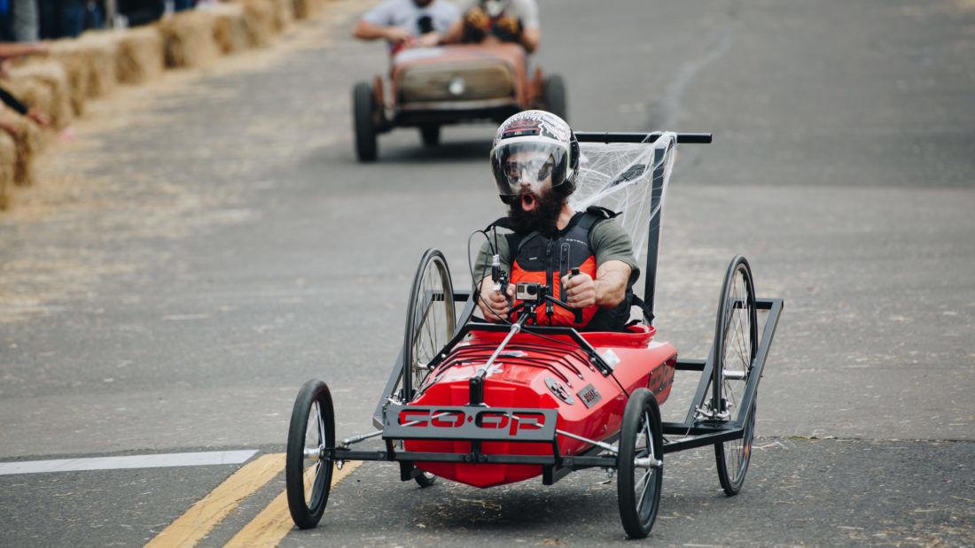 Photos: EUGFun! hosts its inaugural Coffin Races soap box derby