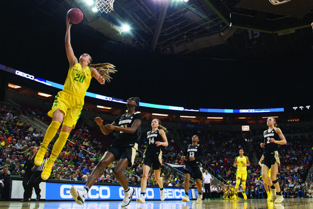 """""""Triple-double queen"""" Sabrina Ionescu thrives on competition, looks to tackle Final Four expectations"""