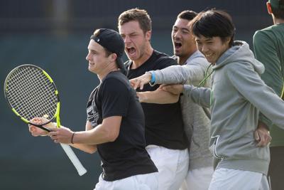 Oregon men's tennis built with international players