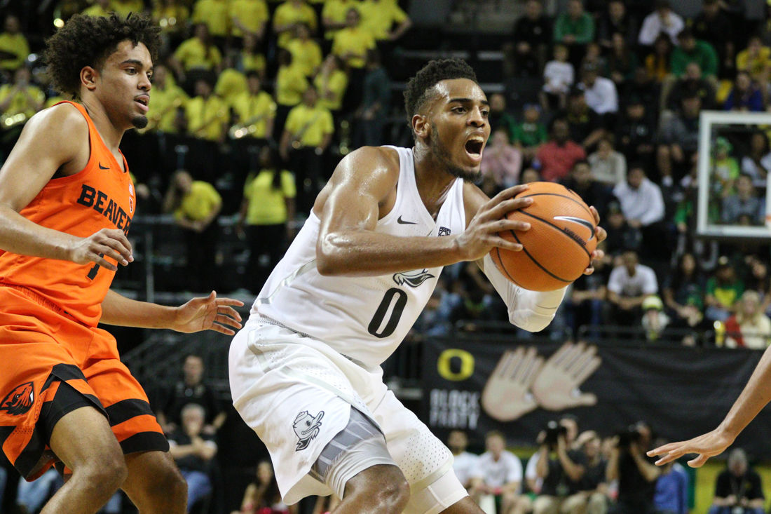 Photos: The Oregon Ducks take down the Oregon State Beavers in civil war match up 66-57