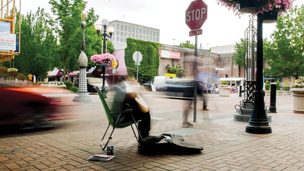 Kesey Square: How an author is transforming his city