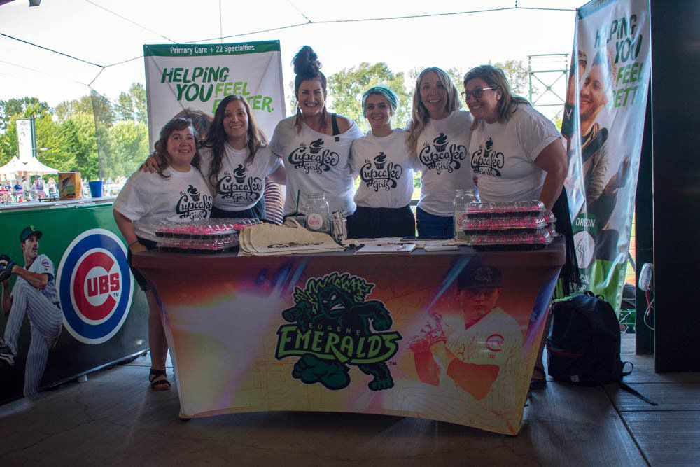 Frosting on the (Cup) Cake: The Cupcake Girls see success and support at Eugene Emeralds game