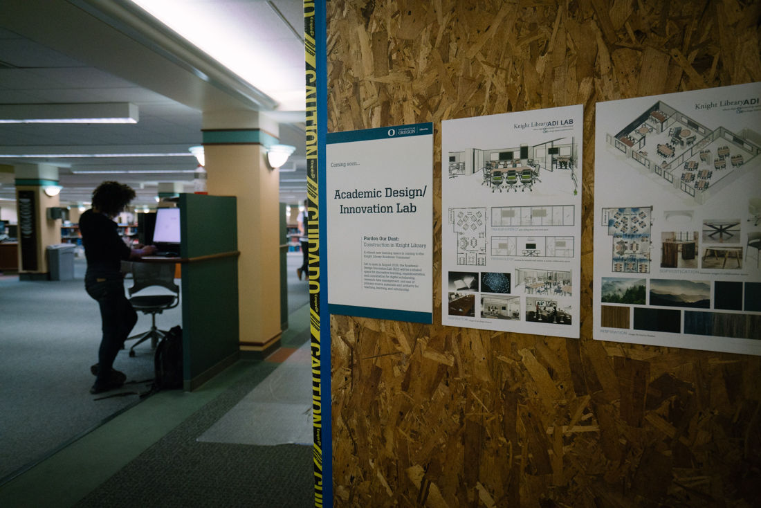 New research and teaching lab coming to Knight Library