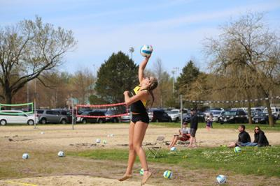 Beach volleyball drops doubleheader to conclude California road trip