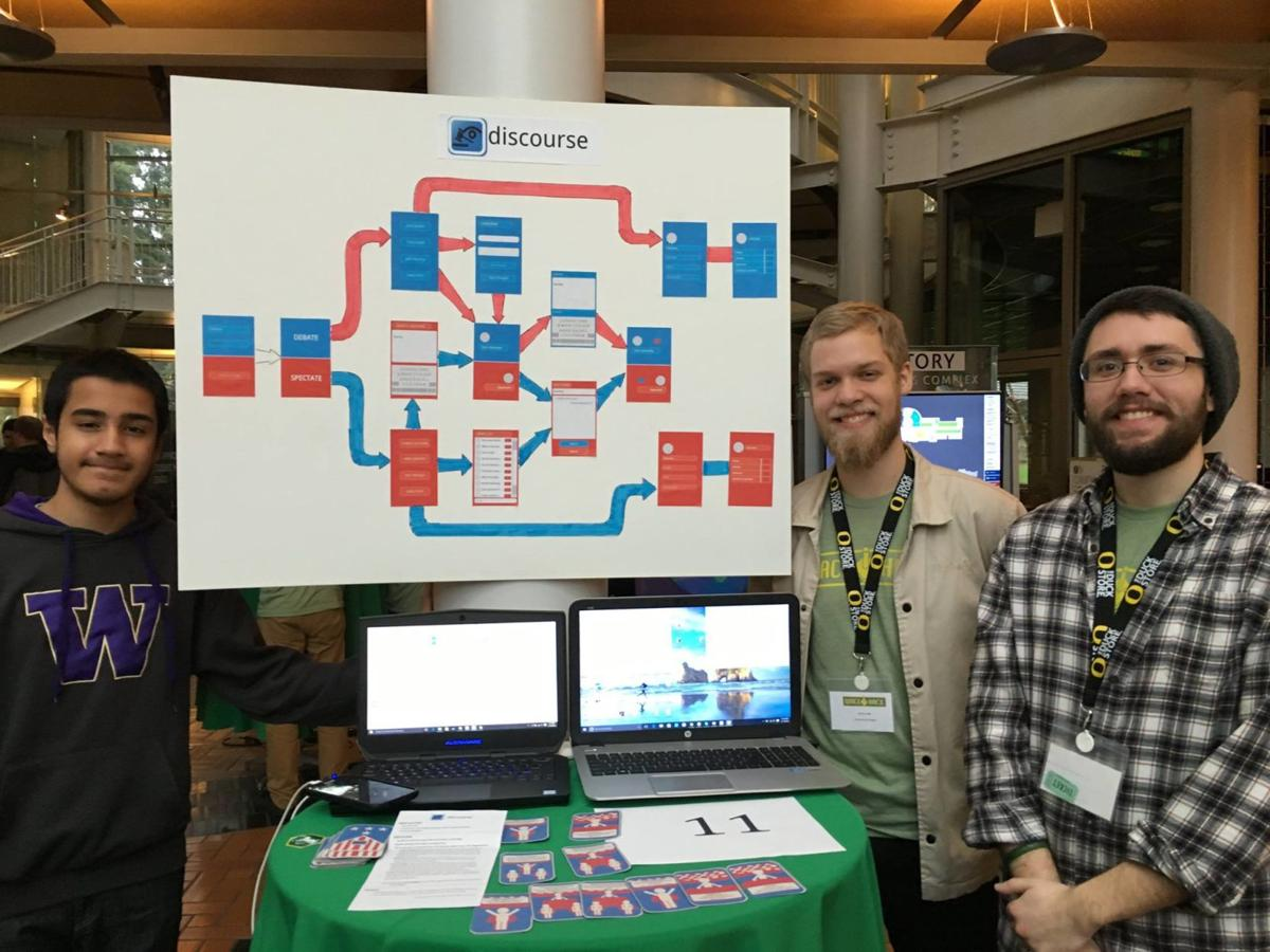 Hacking All Night: UO students compete to create a game in one weekend