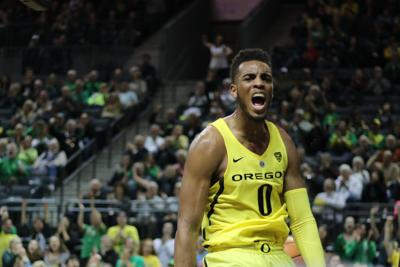Oregon men's basketball athleticism too much for Washington State as Ducks win 84-57