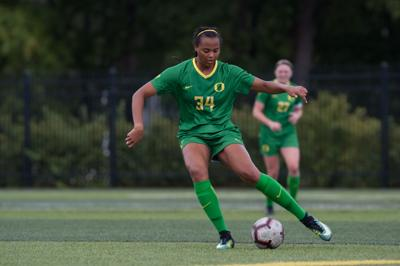 Photos: Oregon Women's Soccer victorious over the Idaho Vandals 2-0