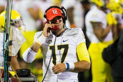 Video: All three Oregon quarterbacks discuss their current roles