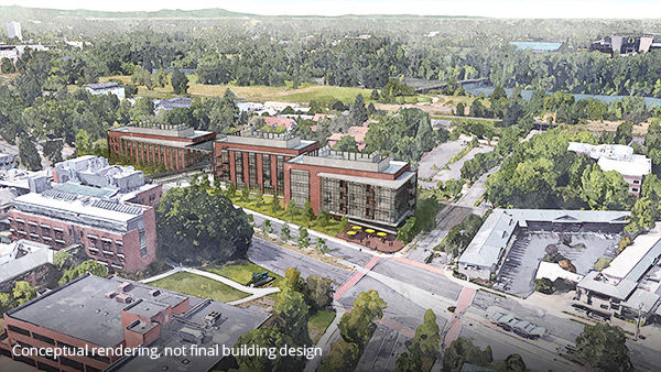 UO receives $500 million donation from Knight family for three-building research campus