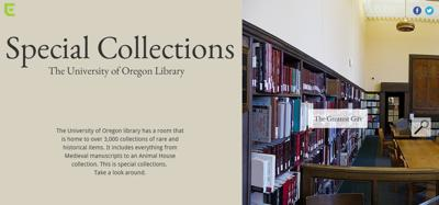 A look inside: Library special collections at the University of Oregon