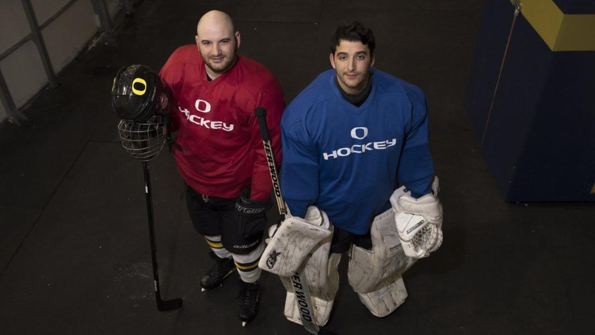 For the love of hockey: Brothers on ice