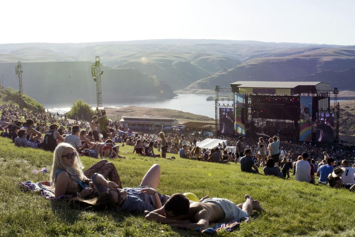 Trying to find the music at Sasquatch 2017