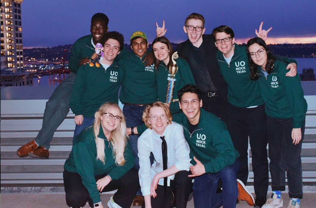 Mock Trial brings home three trophies at regionals, advances to next round