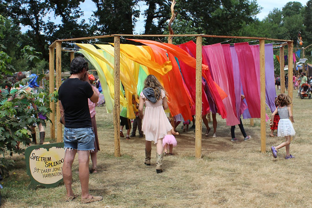 Photos: Oregon Country Fair hosted didgeridoos, libraries and more just outside of Veneta