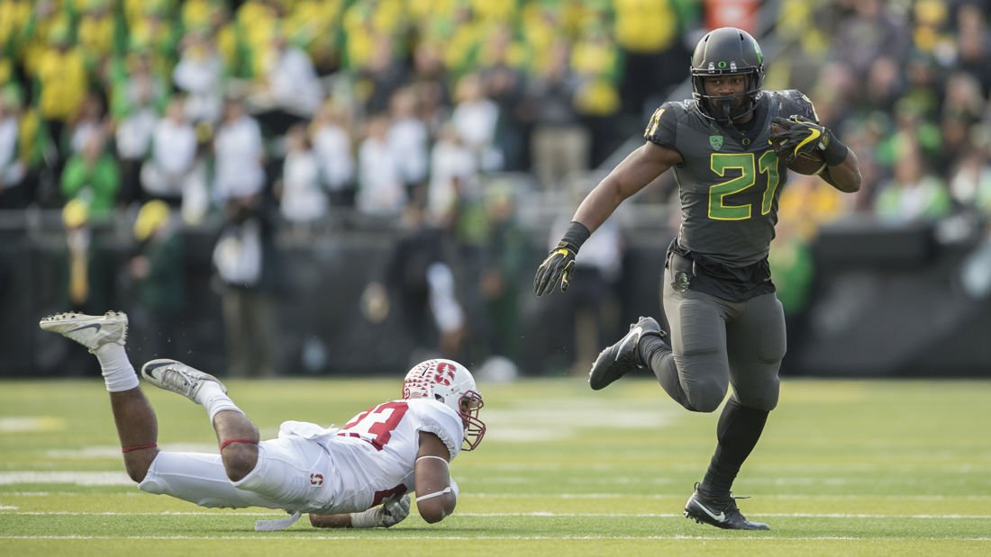 Royce Freeman is on a mission to end his career with success
