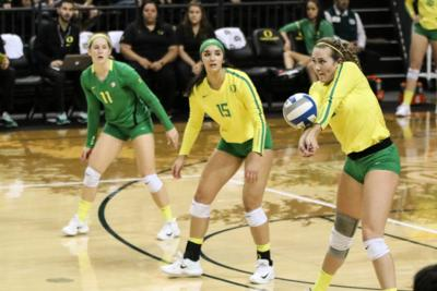 No. 16 Oregon suffers five-set loss to Arizona