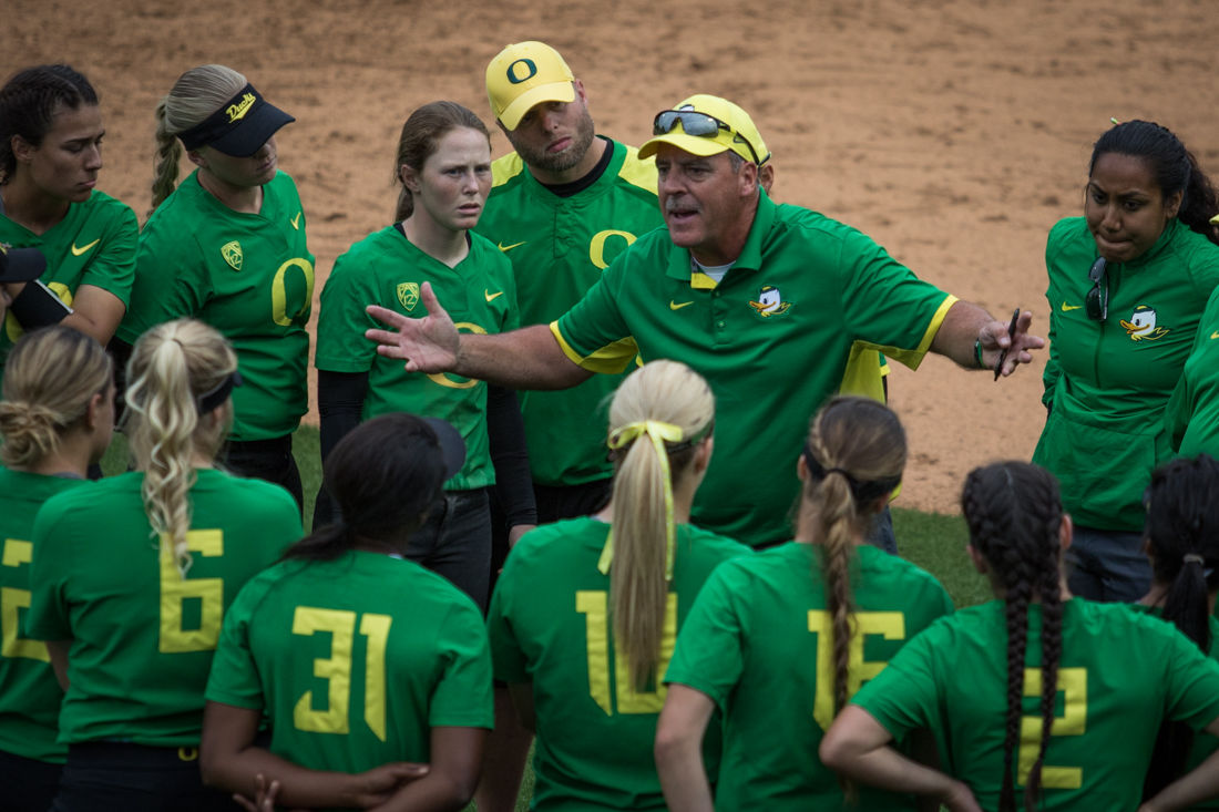 Photos: Oregon shuts out the Utah Valley Wolverines 7-0 in the first part of a doubleheader