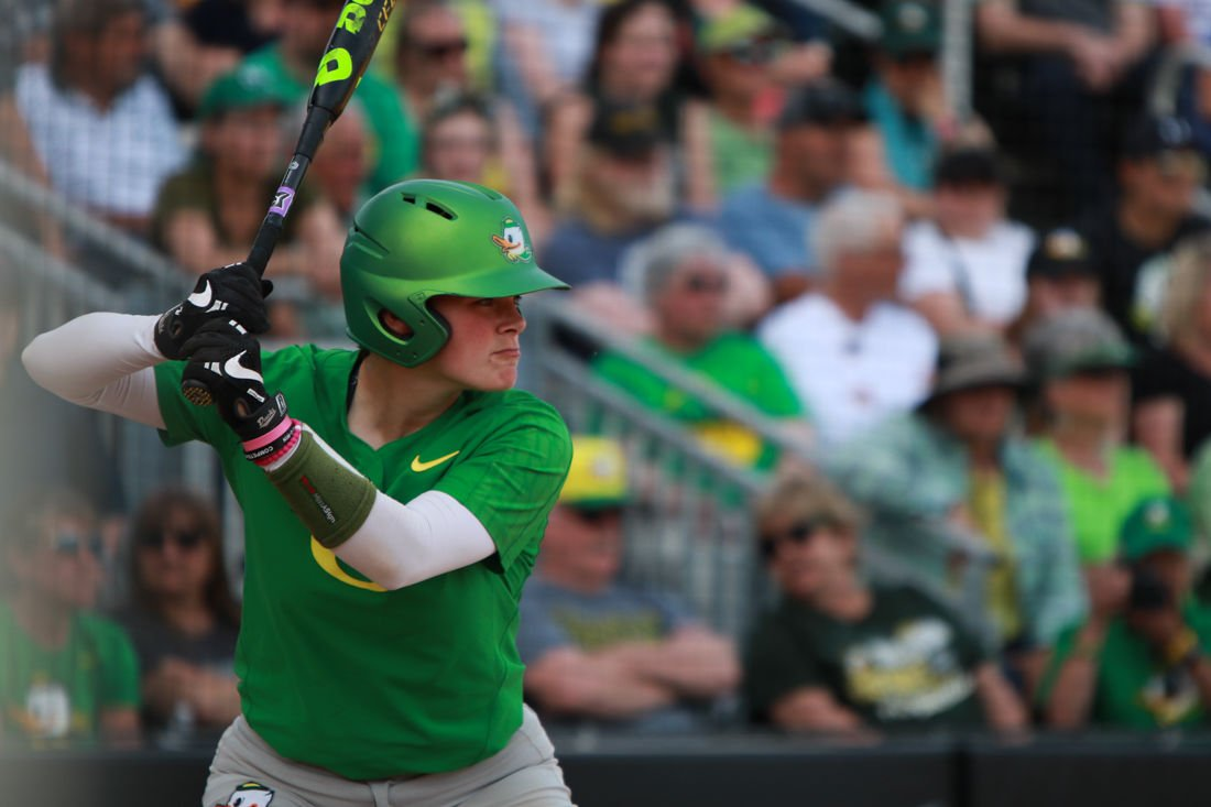 Photos: Oregon softball defeats Wisconsin Badgers 9-0 at regional final