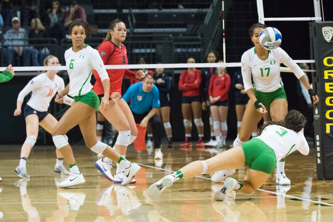 Photos: Women's volleyball falls to Arizona in the fifth set