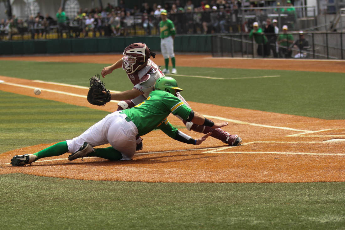 Photos: Oregon Baseball falls to Stanford Cardinals in second game of series